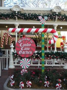 Candy Cane Outdoor Decorations 25 Top Outdoor Christmas Decorations On Pinterest  Outdoor