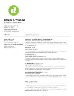 great resume/portfolio/interview tips for designers