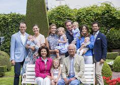 Familia Real sueca, Victoria de Suecia, Magdalena de Suecia, Carlos Felipe de Suecia