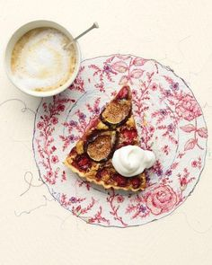 Fig and Strawberry Tart Recipe