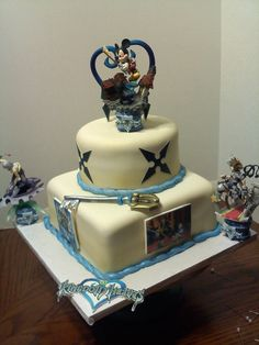 kingdom hearts cake