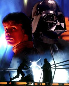 Luke Skywalker vs Darth Vader Poster by Paul Tagliamonte. All posters are professionally printed, packaged, and shipped within 3 - 4 business days. Darth Vader Poster, Star Wars Poster, Carrie Fisher, Star Wars Tattoo, Star Wars Wallpaper, Star War 3, Anakin Skywalker, Star Wars Darth, Star Wars Episodes