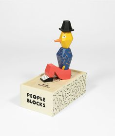 """PEOPLE BLOCKS"" by ANDY REMENTER"