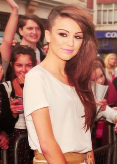Cher Lloyd. I love this style but im not brave enough to try it