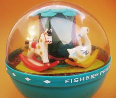 Fisher Price Roly Poly Chime Ball Toy 1960s by UncommonShop, $12.00