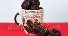Τις προηγούμενες μέρες εδώ στο νησί, ένα και μόνο ένα θέμα απασχολούσε και απασχολεί όλους μας. Η υπόθεση μια νέας κοπέλας, που διαγνώστηκε... Sweets Recipes, My Recipes, Recipies, Mocca, Espresso Coffee, Diy Christmas Ornaments, Deserts, Cookies, Chocolate