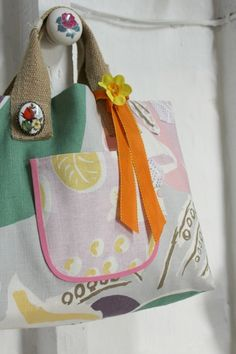 Sew your very own market day Tote with author of Granny Chic