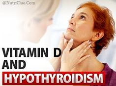 Vitamin D and Hypothyroidism - Can Vitamin D Help to Treat Hypothyroidism? | Nutriclue. I have suffered with this for years and was never told about the vit d element. U can bet I am going to check this out #Treatingthyroidnaturally