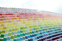pantone rainbow.