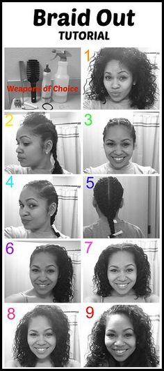 Braid Out on Mixed Girl's Hair Blessed & Beautiful Mixed Girl Hairstyles, Cool Hairstyles, Black Hairstyles, Hairdos, Braid Out Natural Hair, Healthy Relaxed Hair, Healthy Hair, Curly Hair Styles, Natural Hair Styles
