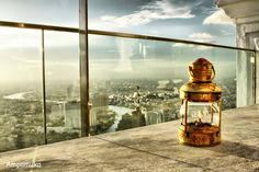 """Sirocco is the world's largest all open-air restaurant and """"Sky Bar"""", located on the floor of the State Tower in Bangkok, Thailand, which is the second tallest building in Thailand Open Air Restaurant, Cool Pictures, Cool Photos, Sky Bar, Winter Images, City Of Angels, White Sand Beach, City Lights, Home Deco"""