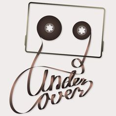 Undercover Music Logo by Patrick Vogt, via Behance