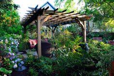 Pergola English Garden Design