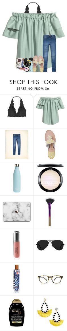 """turn ur industry into ministry"" by legitmaddywill ❤ liked on Polyvore featuring Humble Chic, Hollister Co., Jack Rogers, S'well, MAC Cosmetics, tarte, Revlon, Ray-Ban, Warby Parker and Organix"