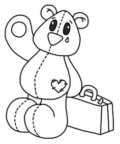 sad care bear coloring pages | Bananas in Pyjamas Coloring Pages Free Printable Pictures ...