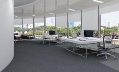 Balance Carpet Tile - colour Fornax #interiordesign #carpettile #flooring Color Tile, Colour, Carpet Tiles, Tile Design, Ceilings, Floors, Walls, Interior Design, Furniture
