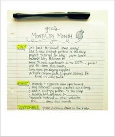 craft business planning