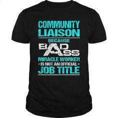 COMMUNITY-LIAISON - #blue hoodie #music t shirts. PURCHASE NOW => https://www.sunfrog.com/LifeStyle/COMMUNITY-LIAISON-110310493-Black-Guys.html?60505