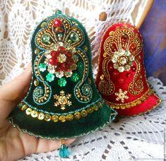 Felt Ornaments Patterns, Felt Patterns, Beaded Ornaments, Ornament Crafts, Felt Crafts, Christmas Crafts, Christmas Rock, Christmas Sewing, Christmas Embroidery