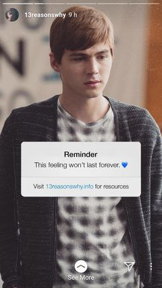This feeling won't last forever 💙 Alex 13 Reasons Why, Thirteen Reasons Why Cast, 13 Reasons Why Poster, 13 Reasons Why Quotes, 13 Reasons Why Netflix, Welcome To Your Tape, 13 Reasons Why Aesthetic, Alex Standall, Tv Series 2017