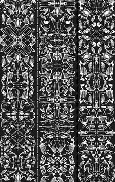 Archives-03 - Perished - Artisanal Wallpaper from The Wallpaper Collective