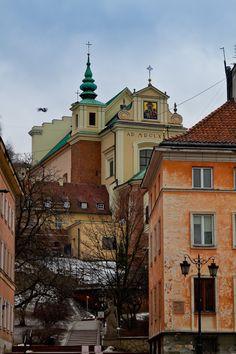 St. Anna church, Mariensztat/Old Town, Warsaw, Poland