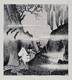 original ilustration for kometjakten. 1946 MoMA | Century of the Child