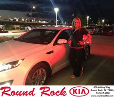 My experience in buying my Kia Optima with Roundrock Kia was amazing. They made me feel comfortable. My sells rep Bobby was very professional and helpful. He gave me a tour of the whole place and even gave me a Vanilla Bundt cake. It was a quick and easy process. - HOLLIE WILBERG, Wednesday, October 02, 2013 http://www.roundrockkia.com/?utm_source=Flickr&utm_medium=DMaxxPhoto&utm_campaign=DeliveryMaxx