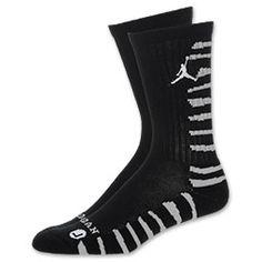 The Jordan AJ 10 Striped Men's Crew Socks