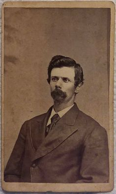 Morgan Earp C. Original image from the collection of P. Us History, American History, Wyatt Earp Tombstone, Morgan Earp, Old West Outlaws, Old West Photos, Doc Holliday, Vintage Pictures, Wild West