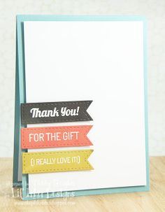 Thank You Card » Lime Doodle Design