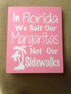 I wish I lived in Florida!