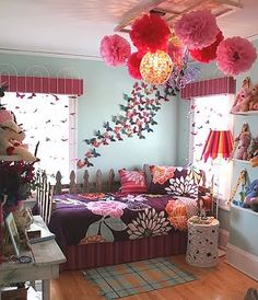 garden theme bedrooms-girls rooms