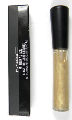 Mac Lip Gloss Mineralize Glass - On Cue