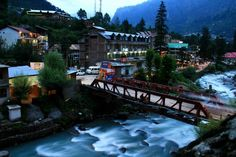 Old Manali, India: A place where two worlds meet!