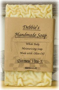 Buy Handmade Soap Online | Debbies Handmade Soap. Her booth is always my first stop at the Pumpkin Festival in Allardt, TN the first Saturday in October!