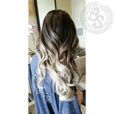 Smokey ombre by BeScene Hair Studio https://instagram.com/bescene/