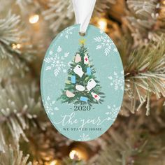 Funny 2021 year Christmas tree watercolor Ornament - tap/click to personalize and buy #Ornament #modern #christmas #greetings, #watercolor #tree, Personalized Christmas Ornaments, Christmas Tree Ornaments, Christmas Decorations, Holiday Decor, Holiday Ideas, Christmas Photo Cards, Christmas Greetings, Holiday Cards, Watercolor Christmas Tree