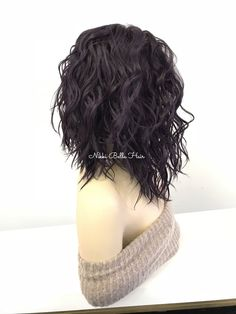 Eggplant full wig - eggie 318 11 in 2019 hair styles идеи дл Curly Hair Cuts, Curly Bob Hairstyles, Short Curly Hair, Wavy Hair, Curly Hair Styles, Natural Hair Styles, Soft Hair, Short Haircuts, Curly Hairstyles For Medium Hair