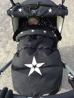 My son in Bugaboo Frog, The Buppa Brand Black Star #ConvertToBlack