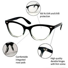414437cc3f16 Details about CAT EYE Eyeglasses BAMBI