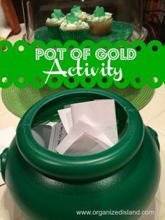 Luck of the Irish Activity - Pot of Gratitude|  Organized Island
