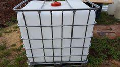 85 Gal Water Tote Off Grid Survival, Hamper, Basket