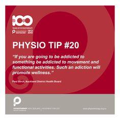 Addicted to something? #physiotips #100years