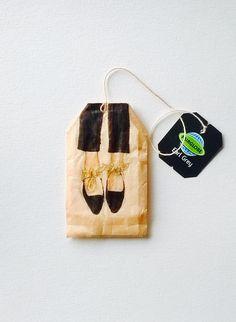 Coffee Filter Art, Coffee Art, Tea Bag Art, Tea Art, Encaustic Art, Cute Little Things, Shoe Art, Mail Art, Craft Gifts