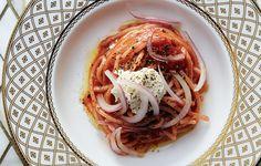 Rose Luxury Tomato-Strawberry sauce- bon appetit