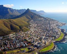 Cape Town, South Africa, a lively mix of African splendor and European charm