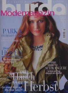 BURDA (Modemagazin) - 08/2008 + Schnittmuster - Zeitschrift Moden Sammlung Style