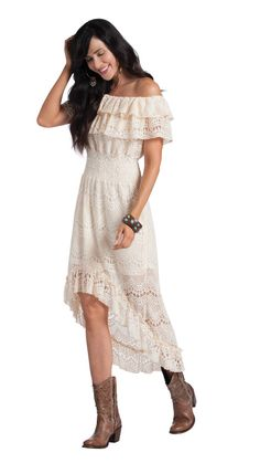 Diamond DIVA Western Apparel Store - Gypsy High Low Lace Dress, $120.00 (http://www.diamondd.us/fashion-basic-shades/black/gypsy-high-low-lace-dress/)