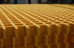 Sand Covered FRP Gratings